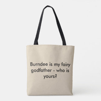 The Reluctant Godfather Burndee Tote