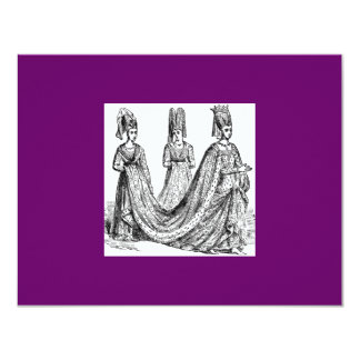 The Renaissance Wedding 11 Cm X 14 Cm Invitation Card