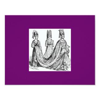 The Renaissance Wedding 11 Cm X 14 Cm Invitation Card