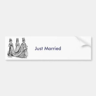 The Renaissance Wedding Bumper Sticker