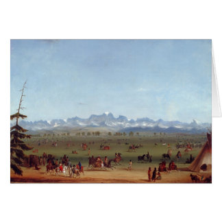 The Rendezvous Near Green River Card