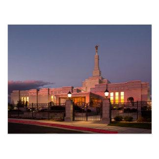 The Reno Nevada LDS Temple Postcard