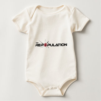 The Repoulation Logo Baby Bodysuit