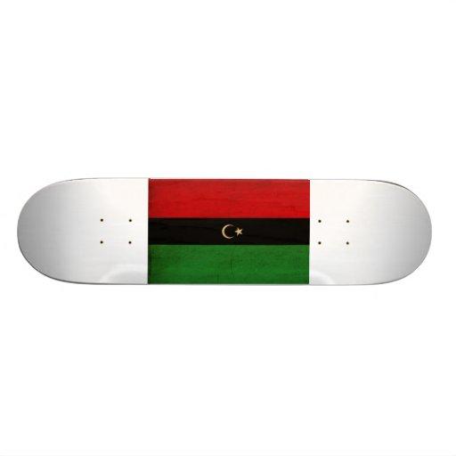 the republic of libya tex3Republic of Libya Flag Skateboard Decks