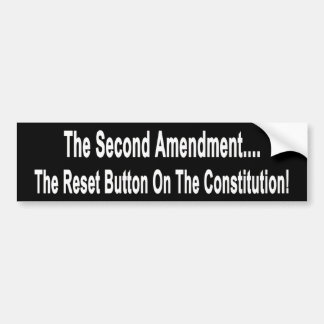 The Reset Button On The Constitution Bumper Sticker