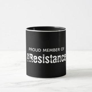 The Resistance Black 11 oz Combo Mug