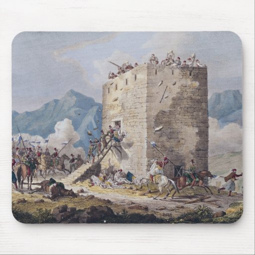 The Resistance of Forty Greek Rebels Mousepads