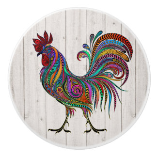 The Resplendent Rooster Drawer / Cabinet Knobs