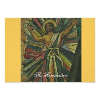 The Resurrection 13 Cm X 18 Cm Invitation Card