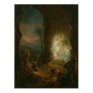 The Resurrection, 1763 Postcard