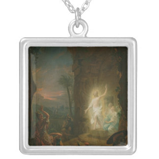 The Resurrection, 1763 Silver Plated Necklace