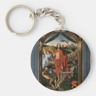 The Resurrection by Hans Memling Key Chains