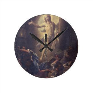 The Resurrection Round Wallclock