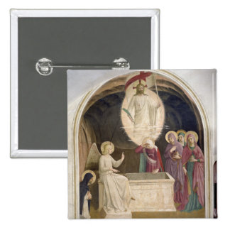 The Resurrection of Christ and the Pious Women at Pinback Buttons