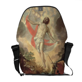 The Resurrection of Christ (oil on canvas) Courier Bag