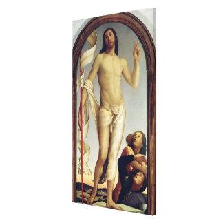 The Resurrection (panel) Canvas Print