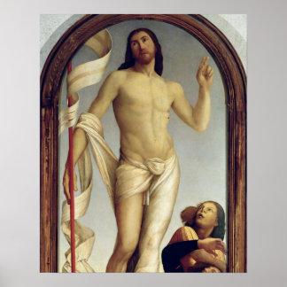 The Resurrection panel Print