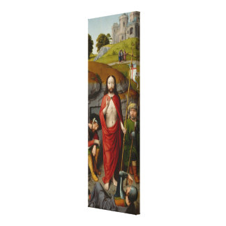 The Resurrection, with the Pilgrims of Emmaus Canvas Print