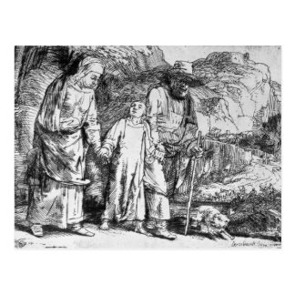 The Return from Egypt, or Jesus Christ Postcard
