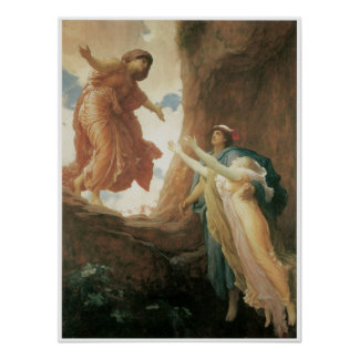 The Return of Persephone by Frederic Leighton Poster