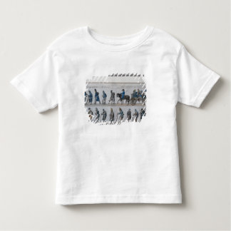 The return of the defeated French army from T Shirt