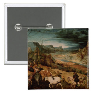 The Return of the Herd  1565 15 Cm Square Badge