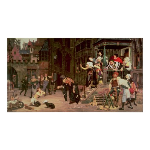 The Return of the Prodigal Son, 1862 Print