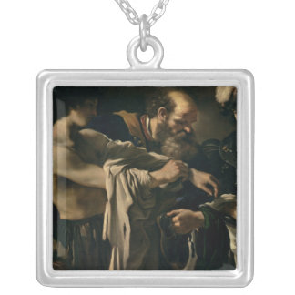 The Return of the Prodigal Son Silver Plated Necklace