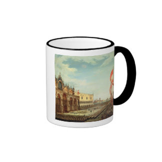 The Return of the St. Mark Troops to Venice Ringer Mug
