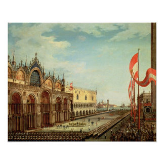 The Return of the St. Mark Troops to Venice Poster