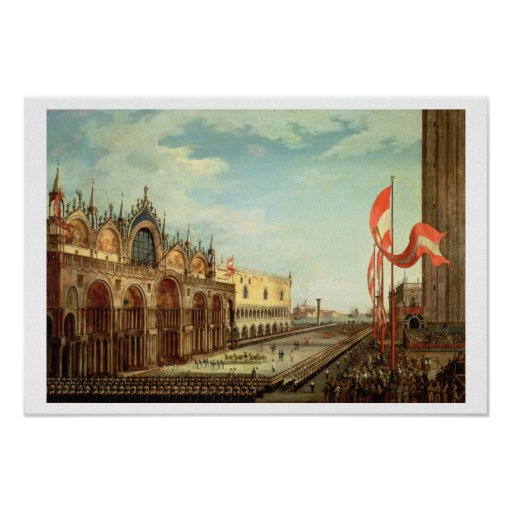 The Return of the St. Mark Troops to Venice Print