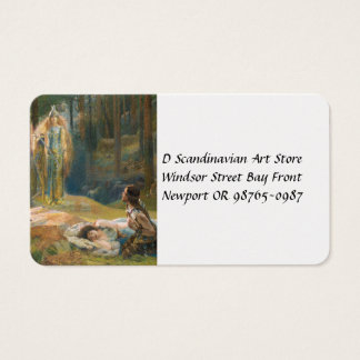 The Revelation Brunhilde Business Card