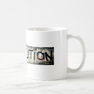 "The ""Revolution"" Collection Basic White Mug"
