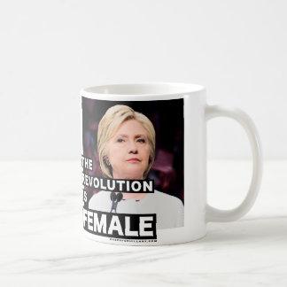 The Revolution Is Female Coffee Mug