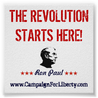 The Revolution Starts Here! Poster