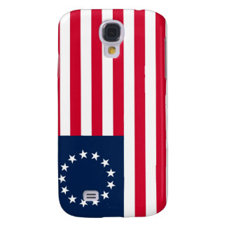 The Revolutionary War Betsy Ross Flag Samsung Galaxy S4 Case