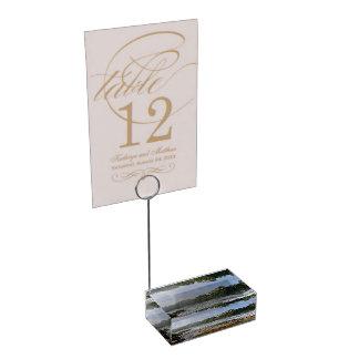 The Rhine Falls Table Card Holder