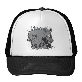 The Rhinos Mesh Hats