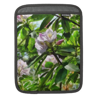 The Rhododendrons Are In Bloom iPad Sleeve