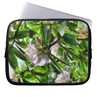 The Rhododendrons Are In Bloom Laptop Sleeve