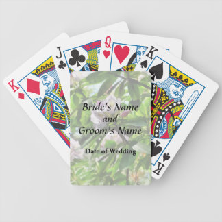 The Rhododendrons Are In Bloom Wedding Products Bicycle Playing Cards