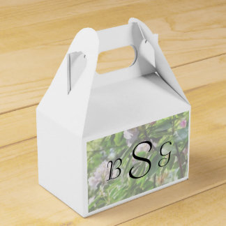 The Rhododendrons Are In Bloom Wedding Products Favour Box