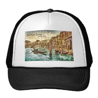 The Rialto Bridge Mesh Hat