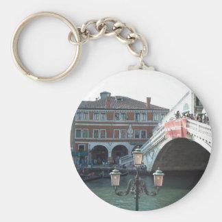 The Rialto Bridge Venice Keychain