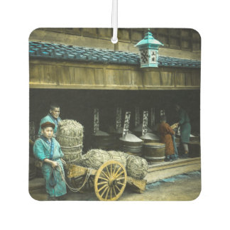 The Rice Merchants of Old Japan Vintage Japanese