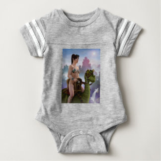 The Rider Approaches Baby Bodysuit