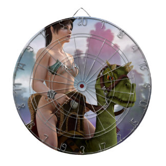 The Rider Approaches Dartboard