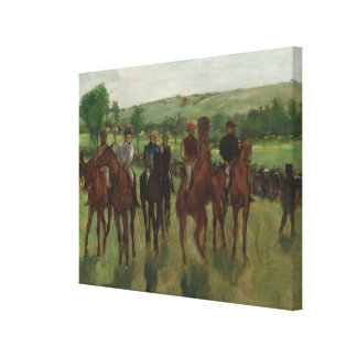The Riders Canvas Print