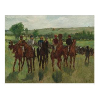 The Riders Postcard
