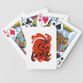 THE RIDERS VISION POKER DECK